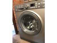 HOTPOINT WMFUG742G SMART Washing Machine - Graphite