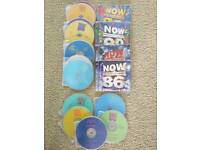 Various Now That's What I Call Music CD's