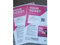 2 x Jools Holland tickets