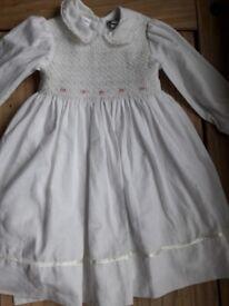 Sarah louise age 2 smocked dress