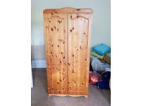 Nice quality wood wardrobe