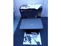 HP 1050 PRINTER WITH CABLES, DISC MANUAL & BOX