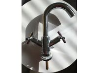Bathroom mixer tap polished chrome