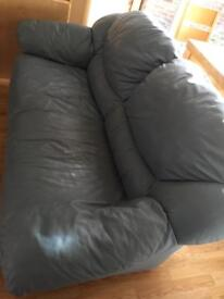 Blue sofa 3 and 2 seater