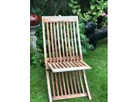 Hardwood Multi-position Chair/lounger