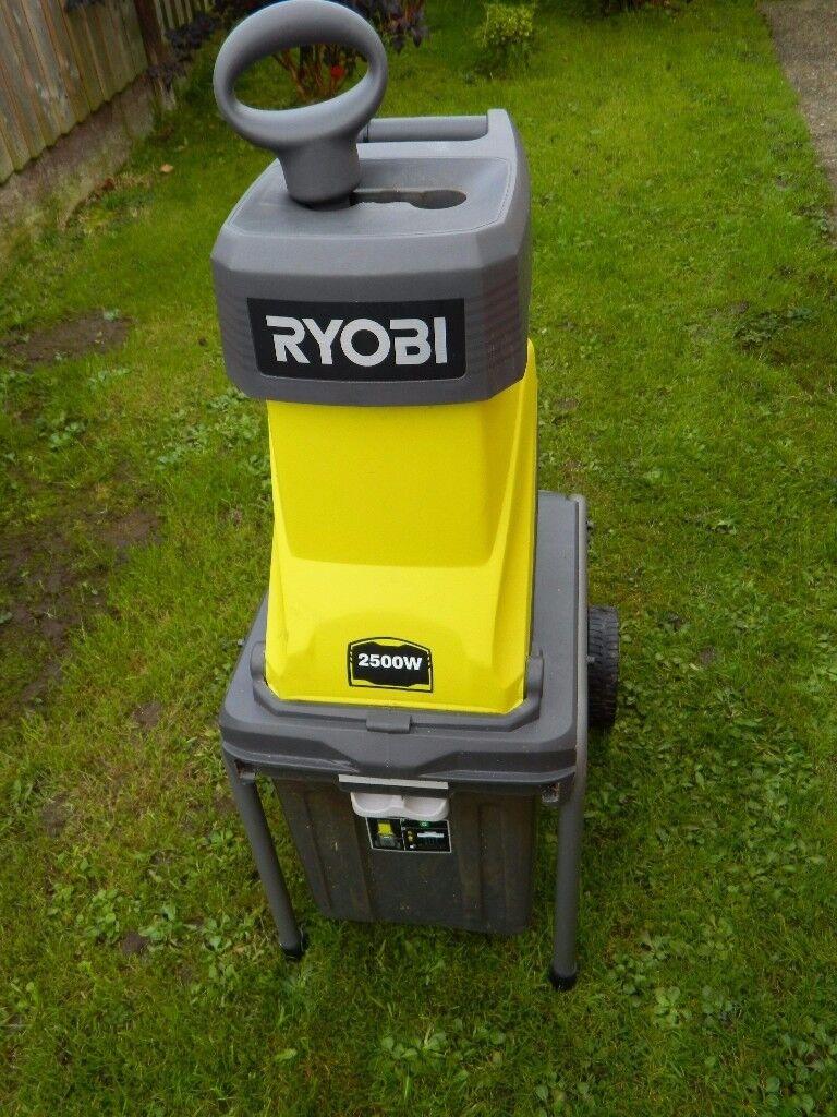 Ryobi RSH2545B Electric Impact Shredder.