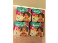 Pampers Active Fit Size 6 Extra Large 15kg+ (31) 4 x Packs