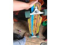 Crane longboard skateboard