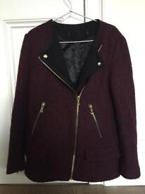 Zara winter jacket size S