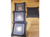 Blendtec lids x 4 used