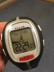 Polar rs200 inc heart rate monitor plus footpod