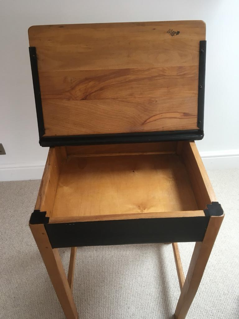 Old Fashioned School Desk At A Bargain Could Also You Chair To Go With It If Wanted