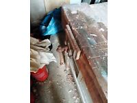 old school type work bench