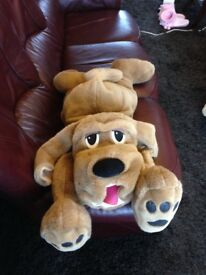 Toy Dog Large Cuddly In as New Clean Condition
