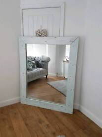 Upcycled Shabby chic mirror