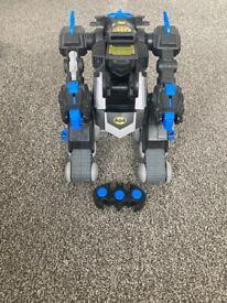 Remote control transforming batbot
