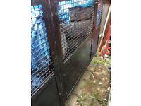 Gardening braked trailer 7x5 caged