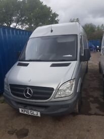 SPRINTER VAN LWB NON RUNNER COLLECTION ONLY