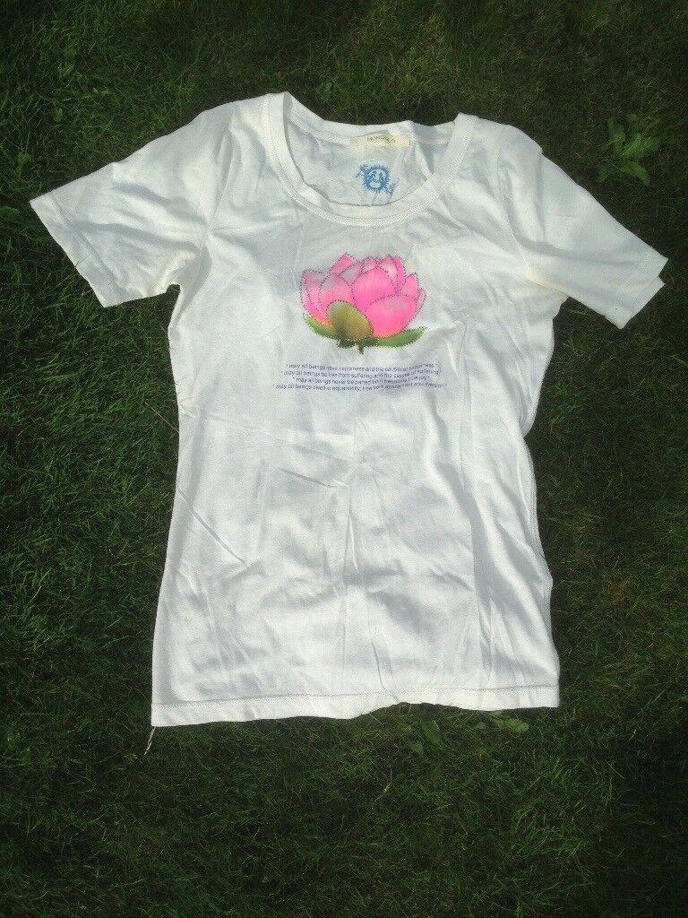 Mandala t shirt with lotus flower in gloucester gloucestershire mandala t shirt with lotus flower izmirmasajfo