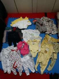 baby clothes bundles or separate, boy/girl - 0-3/ 3-6 months