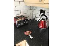 Kettle toaster & microwave