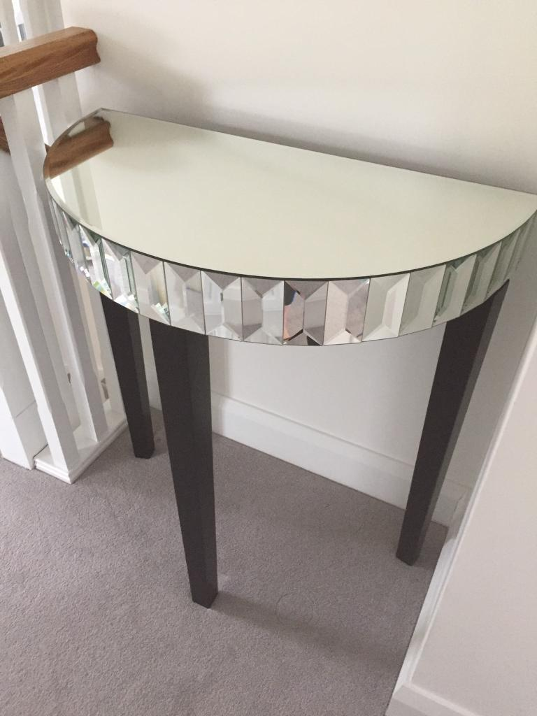 Next Mirrored Console Table