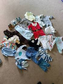 New born to 3 to 6 month clothing boys like new