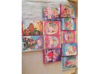 Barbie DVDs Collection - used, good condition