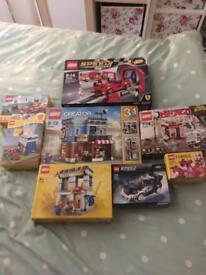 Lego sets , creator , speed champions ,Ninjago