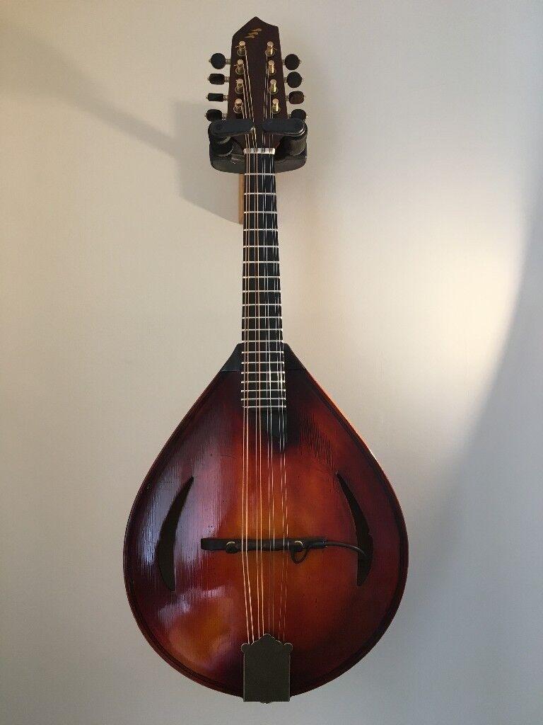 Handmade Mandolin By Kenny Johnson Skyinbow Fiddles Shetland