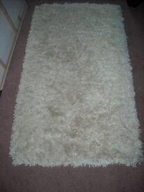 White super comfort rug