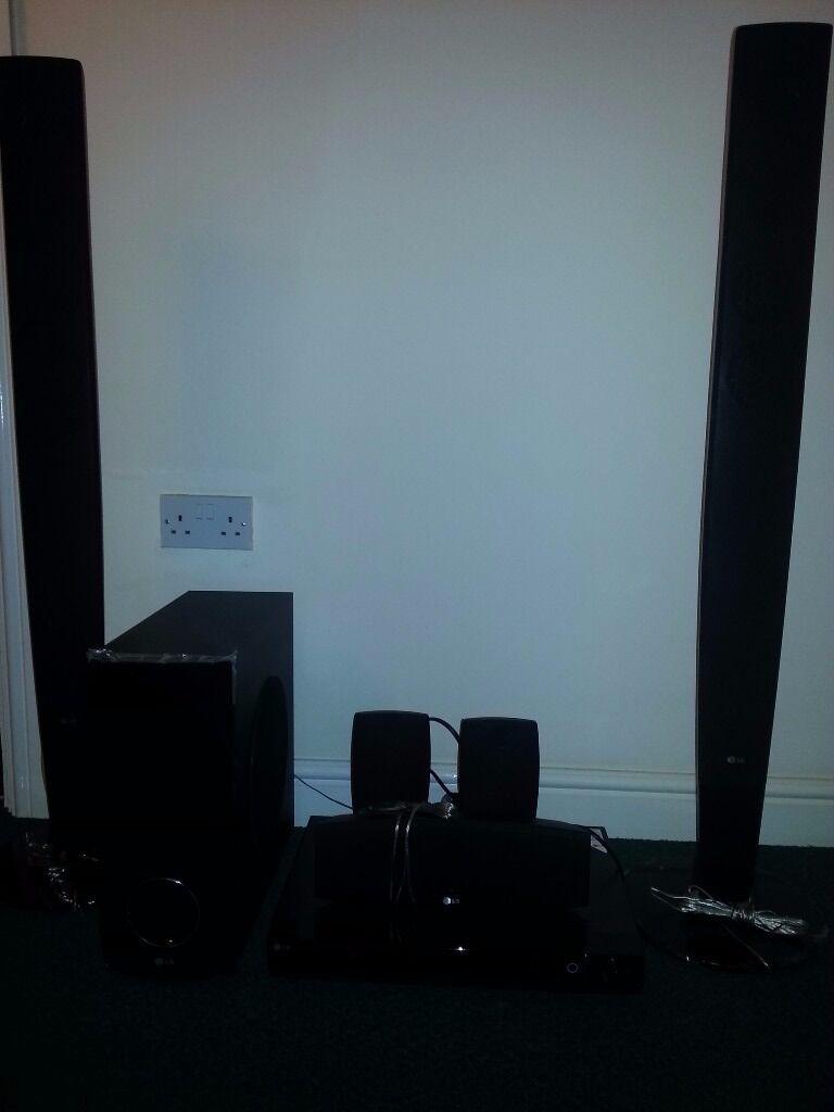 LG HT503PH-DH, 5.1 Surround Sound Home Cinema System, cd/dvd player ...