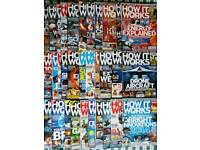 Collection of How it Works Magazines
