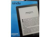 "AMAZON KINDLE 6"" E-READER, GLARE-FREE, TOUCH-SCREEN DISPLAY, WI-FI, BLACK"