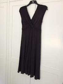 Tiffany Rose maternity wedding guest / party black dress. Size 3