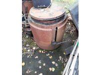3 slug bitumen boiler