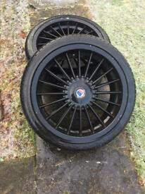 BMW alpine 18 inch alloy wheels