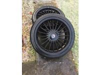 BMW alpine 18 inch alloy wheels