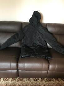 Men's thick winter jacket