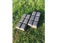 Victorian Blue Stable Paving Bricks