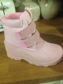 Pink mucker / horse yard boots
