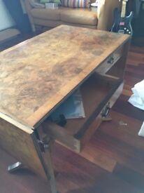 Antique Georgian Regency reproduction mahogany sofa table pembroke side