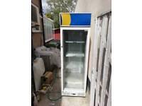 Drink glass door commercial fridge