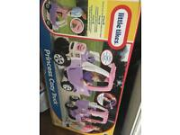 Princess little tikes cozy truck