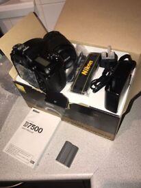 D7500 Nikon (brand new)