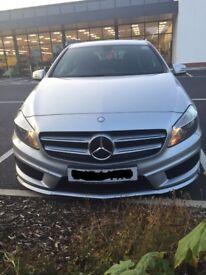 Mercedes-Benz A200 CDI AMG silver