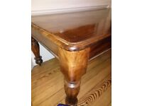 Hard wood coffee table for sale Very good condition,
