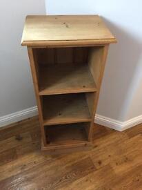 Solid Wood Book/ Display Cabinet.