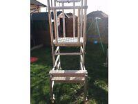 Aluminium podium/step up/scaffold