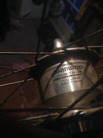 Dynamo front wheel, 700c, 622